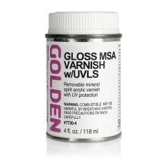 Golden MSA Varnish Gloss 118ml