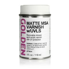 Golden MSA Varnish Matte 118ml