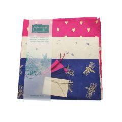 Handmade Lokta Giftwrap Pack Mixed 3 Sheet Pack