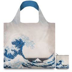 LOQI Museum Collection Tote Bag 'The Great Wave'