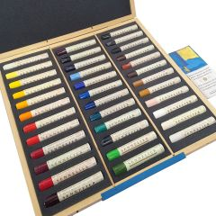 Sennelier Artists Oil Stick Wooden Box Set 36 x 38ml