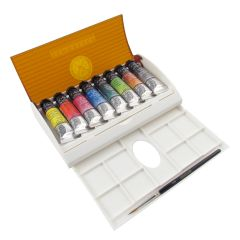 Sennelier Artists Watercolour Tube Travel Box Set 8 x 10ml