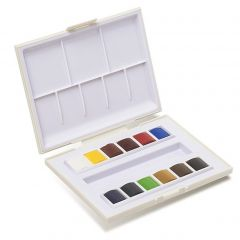 Sennelier La Petite Aquarelle 12 Watercolour Half-Pan Set