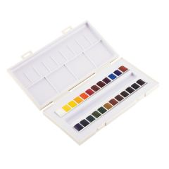 Sennelier La Petite Aquarelle 24 Watercolour Half-Pan Set