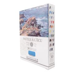 Sennelier 30 Plein Air Seaside Soft Demi Pastel Box Set