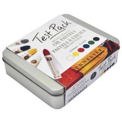 Sennelier Artists Oil Pastels Test Pack Tin Set of 6