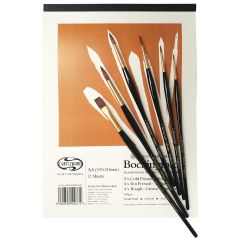 Pro Arte Sablene Synthetic Sable W14 Watercolour Brush Set & CW Bockingford Mix Pad A4