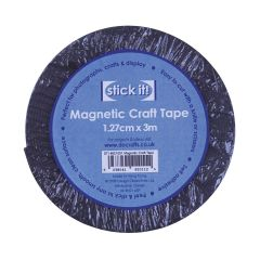 Stick It Magnetic Craft Tape 1.27cm x 3m