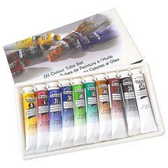 Winsor & Newton Winton 10 x 21ml Oil Colour Tube Set