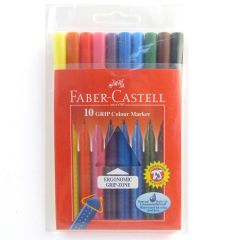 Faber Castell Grip Colour Marker Set of 10