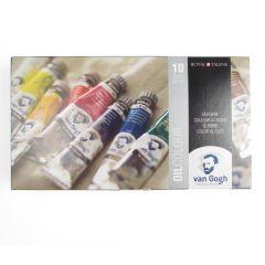 Van Gogh Oil Paint Set 10 x 20ml Artists Paint Tube Box Set