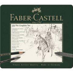 Faber Castell Pitt Graphite Tin Set of 19