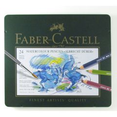 Faber Castell Artist Albrecht Durer Watercolour Pencil Tin Set of 24