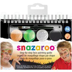 Snazaroo Halloween Face Paint Booklet Kit