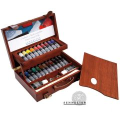 Sennelier Wooden Box Set Artists Oils 22x40ml
