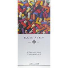 Sennelier 80 Assorted Soft Demi Pastel Box Set. Professional Artists Pastels