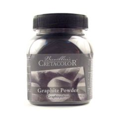 Cretacolor Graphite Powder 150g Pot. For Artists Drawing and Sketching.