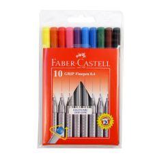 Faber Castell Grip Fine Pen Colour Set of 10