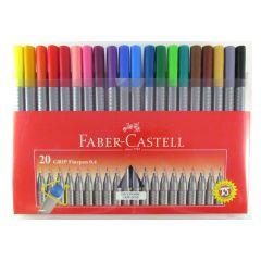 Faber Castell Grip Fine Pen Colour Set of 20