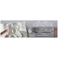 Cretacolor Cleos Fine Artists Graphite Pencil Tin Set of 24 Grades 9B to 9H