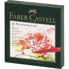 Faber Castell Pitt Artists 12 Brush Pen Studio Box Set