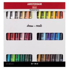 Royal Talens Amsterdam Acrylic Set 36x20ml