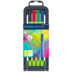 Schneider Line-Up Fineliner Pen Set of 4