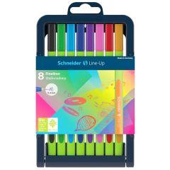 Schneider Line-Up Fineliner Pen Set of 8