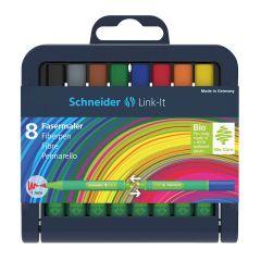 Schneider Link-It Fibrepen Case Set of 8