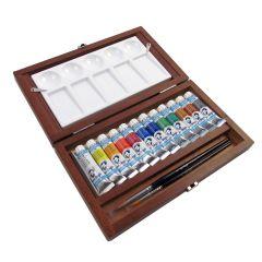 Van Gogh Artists Watercolour Tube Wooden Box Paint Set