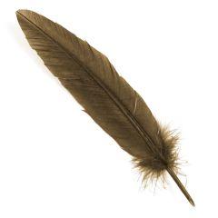 Traditional Bronze Colour Goose Quill Dip Pen