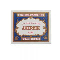 Box Set of 8 Assorted J.Herbin Drawing Pen Nibs (25100T)