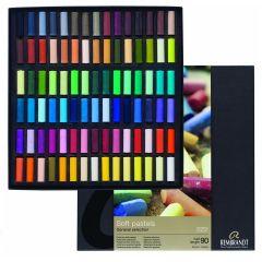 Rembrandt Artists Soft Pastels 90 1/2 stick Box Set