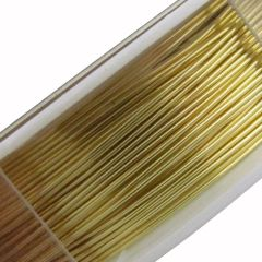 Beading Wire Gold 24 Gauge 12m