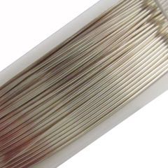 Beading Wire Silver 24 Gauge 12m