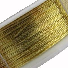 Beading Wire Gold 28 Gauge 22m
