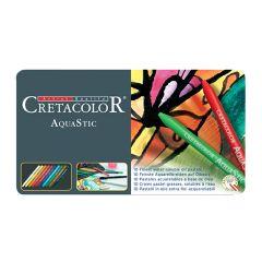 Cretacolor Aquastic Artists Watercolour Pastel 10 Colour Art Set