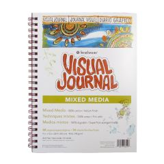 "Strathmore Mixed Media Visual Journal 9"" x 12"" 190gsm/90lbs"