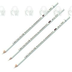 3 X Cretacolor Artists White Oil Pastel Pencils