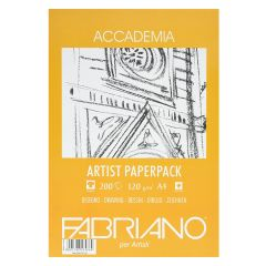 Fabriano Accademia 200 Sheets 120gsm A4 Artist White Paper Pack