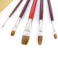 Da Vinci Oil Painting Brush Set in Wooden Box Set 5242