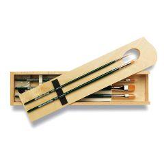 Da Vinci Nova Brush Set for Acrylic and Oil Wooden Box Set 5243