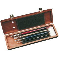 Da Vinci Watercolour Brush Set in a Wooden Box Set 5280