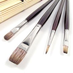 Da Vinci Grigio-Synthetics Oil Brush Set