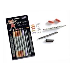 Copic Ciao Markers 5+1 Manga Set 4