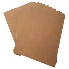 Brown 275gsm Kraft Card 25 Sheet Packs