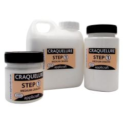Craquelure Step 1 Medium Cracks