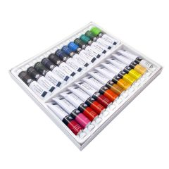 Royal Langnickel Artist Acrylic Assorted 24 x 21ml Paint Tube Box Set