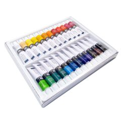 Royal Langnickel Artist Acrylic Assorted 24 x 12ml Paint Tube Box Set