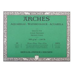 Arches Artist Watercolour Paper Blocks Cold Pressed (NOT)